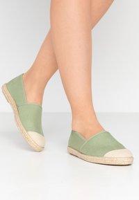 Grand Step Shoes - EVITA PLAIN PARIS - Espadrilles - mint - 0