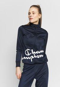 Champion - FULL ZIP SUIT - Verryttelypuku - dark-blue denim - 2