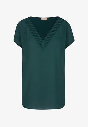 Print T-shirt - smaragd