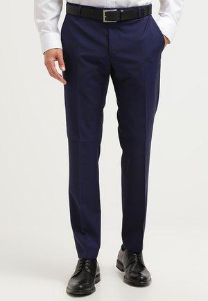 L-MERCER - Suit trousers - royal blue