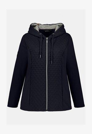 GROSSE GRÖSSEN SWEATJACKE - Zip-up hoodie - bleu marine