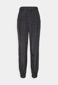Missguided - SMALL BRANDED JOGGER  - Tracksuit bottoms - black - 0
