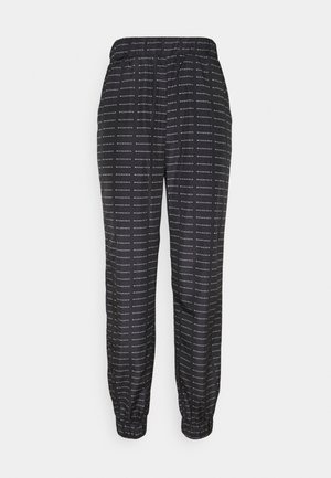 SMALL BRANDED JOGGER  - Tracksuit bottoms - black
