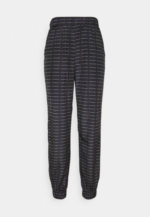 SMALL BRANDED JOGGER  - Teplákové kalhoty - black
