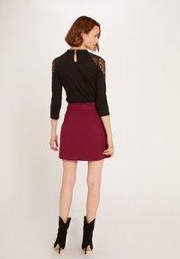 Morgan - TISHIR - Long sleeved top - black - 2
