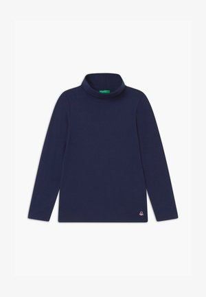 TURTLE NECK  - Long sleeved top - dark blue