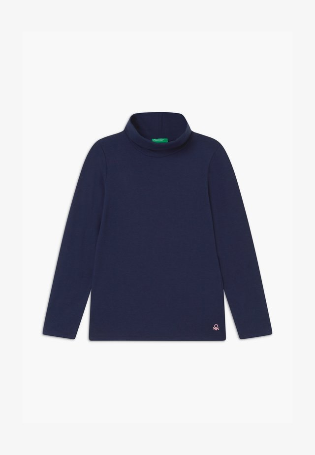 TURTLE NECK  - Topper langermet - dark blue