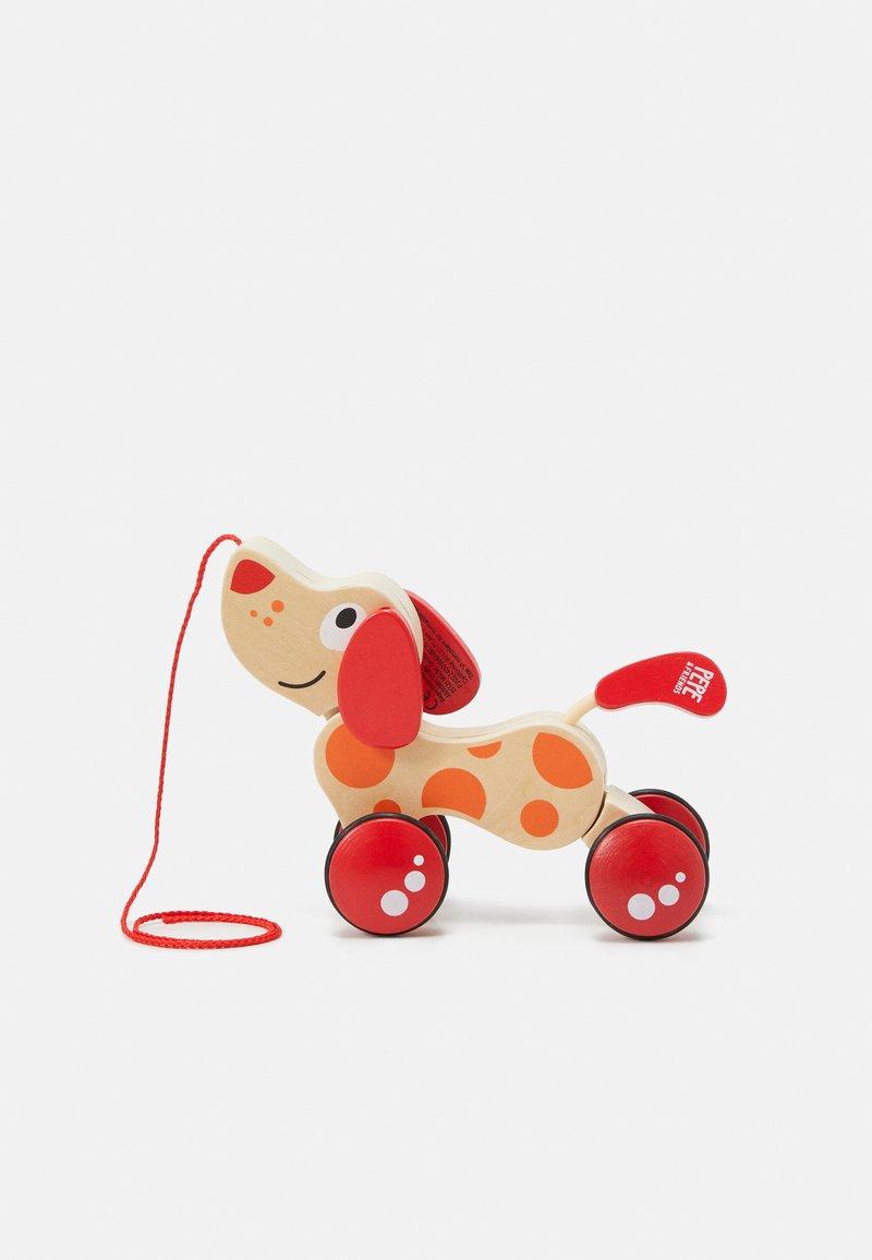 Hape - WALK-A-LONG PUPPY - Wooden toy - multi