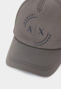 Armani Exchange - BASEBALL UNISEX - Gorra - dark grey - 3