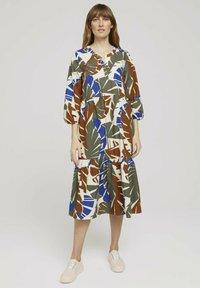TOM TAILOR - Day dress - multicolor botanical design - 1