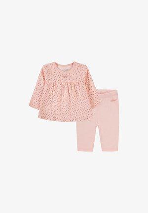 SET - Legging - pastel pink