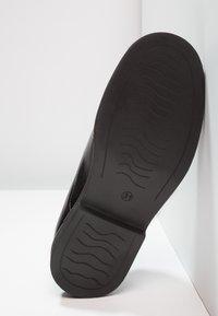 Friboo - LEATHER - Šněrovací boty - black - 4
