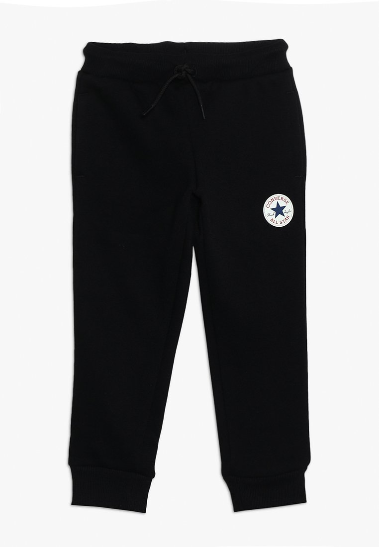 Converse - CHUCK PATCH - Tracksuit bottoms - black