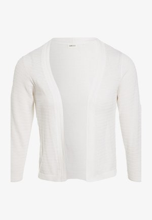 MIT 3/4 ÄRMELN - Cardigan - white