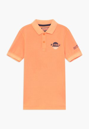 Polo shirt - shocking orange