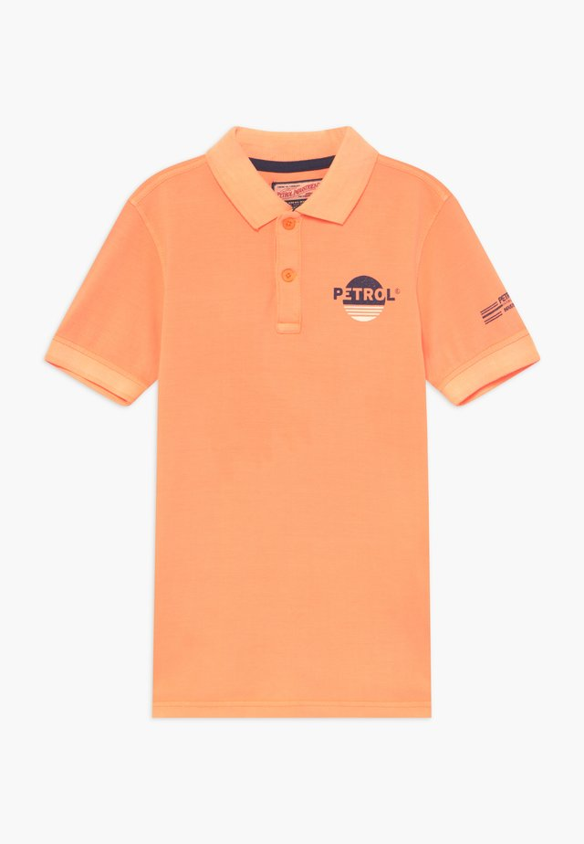 Poloshirt - shocking orange