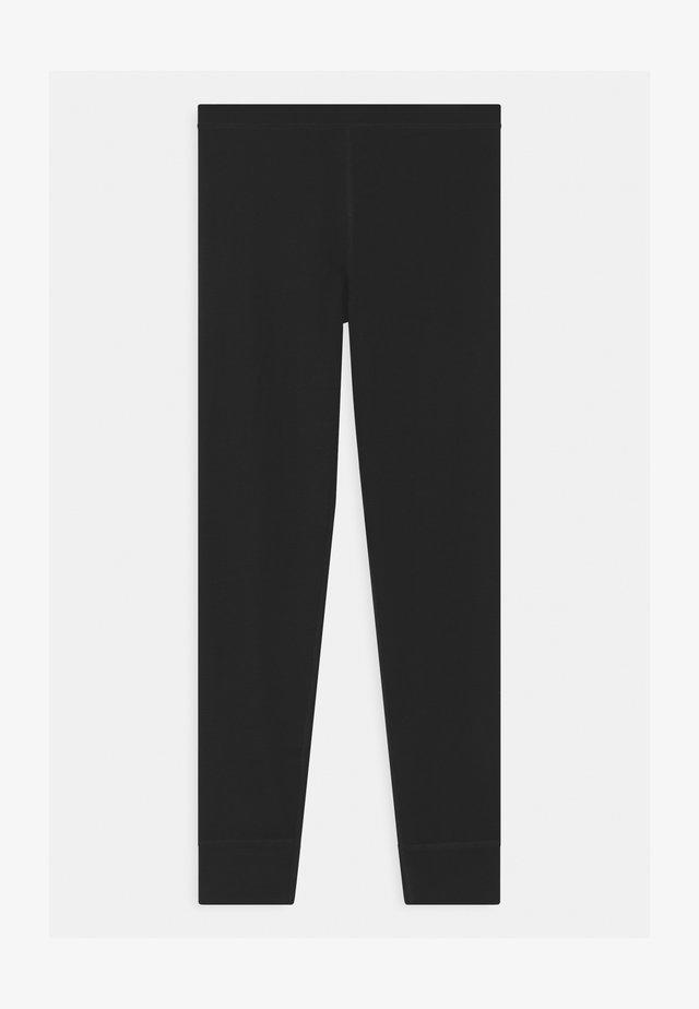SOLID UNISEX - Leggings - black