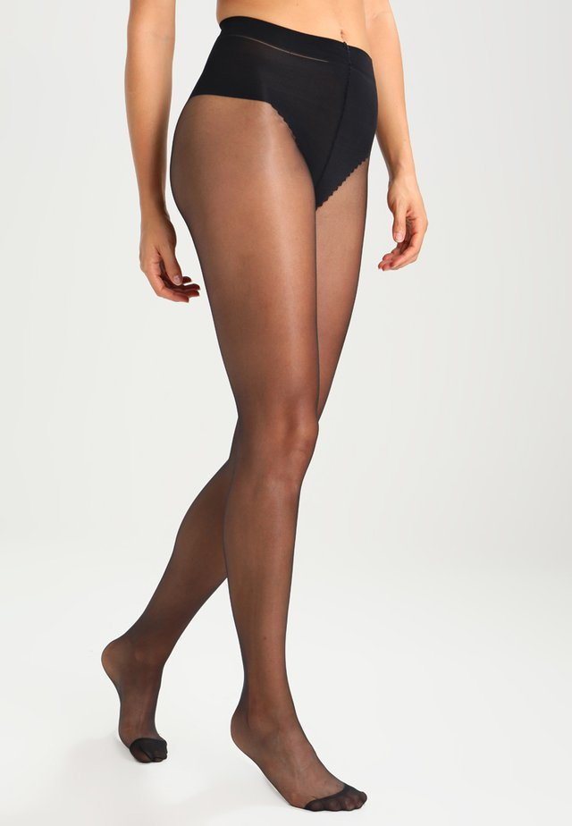15 DEN COLLANT SUBLIM VENTRE PLAT - Collants -  noir
