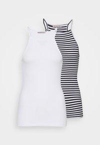 Anna Field Tall - 2 PACK - Topper - white/black - 0