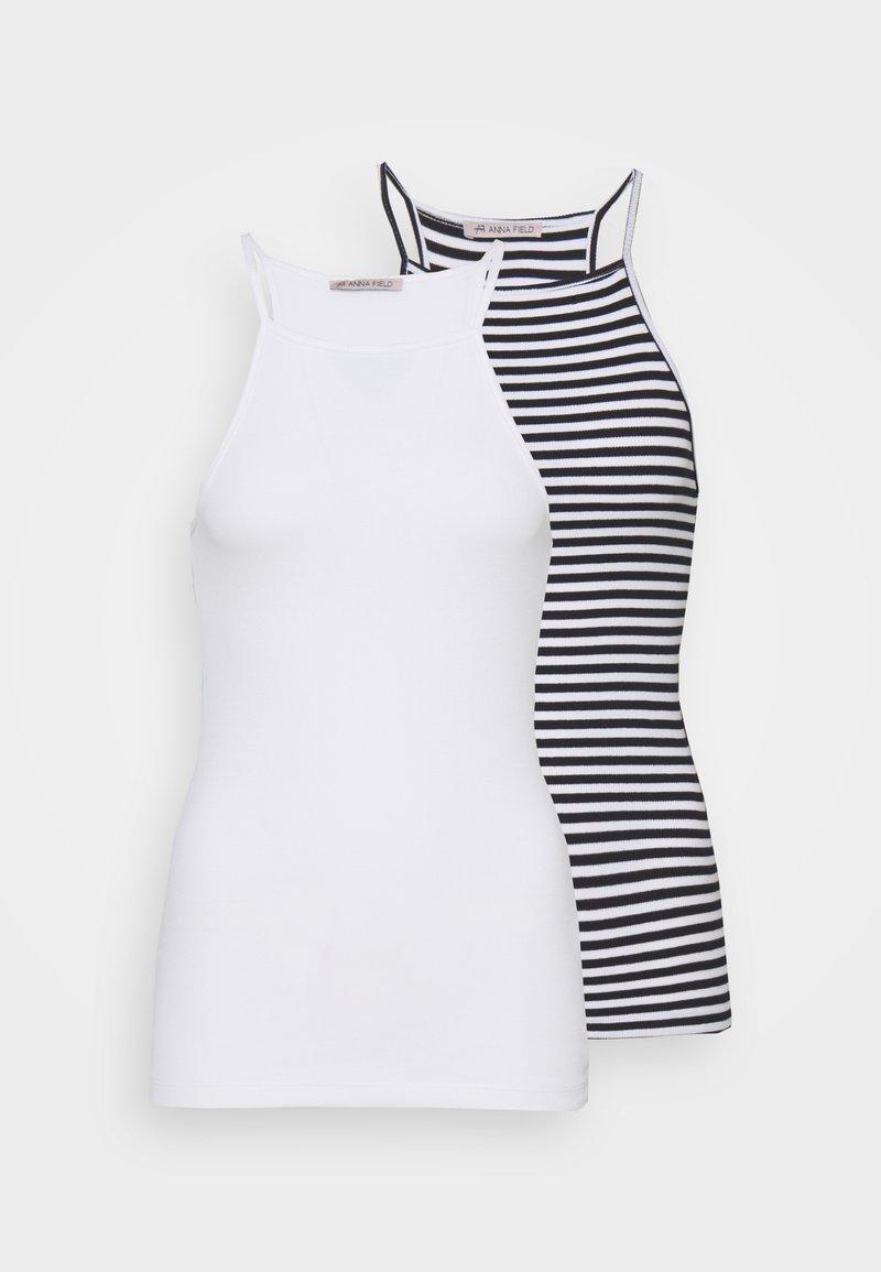 Anna Field Tall - 2 PACK - Topper - white/black