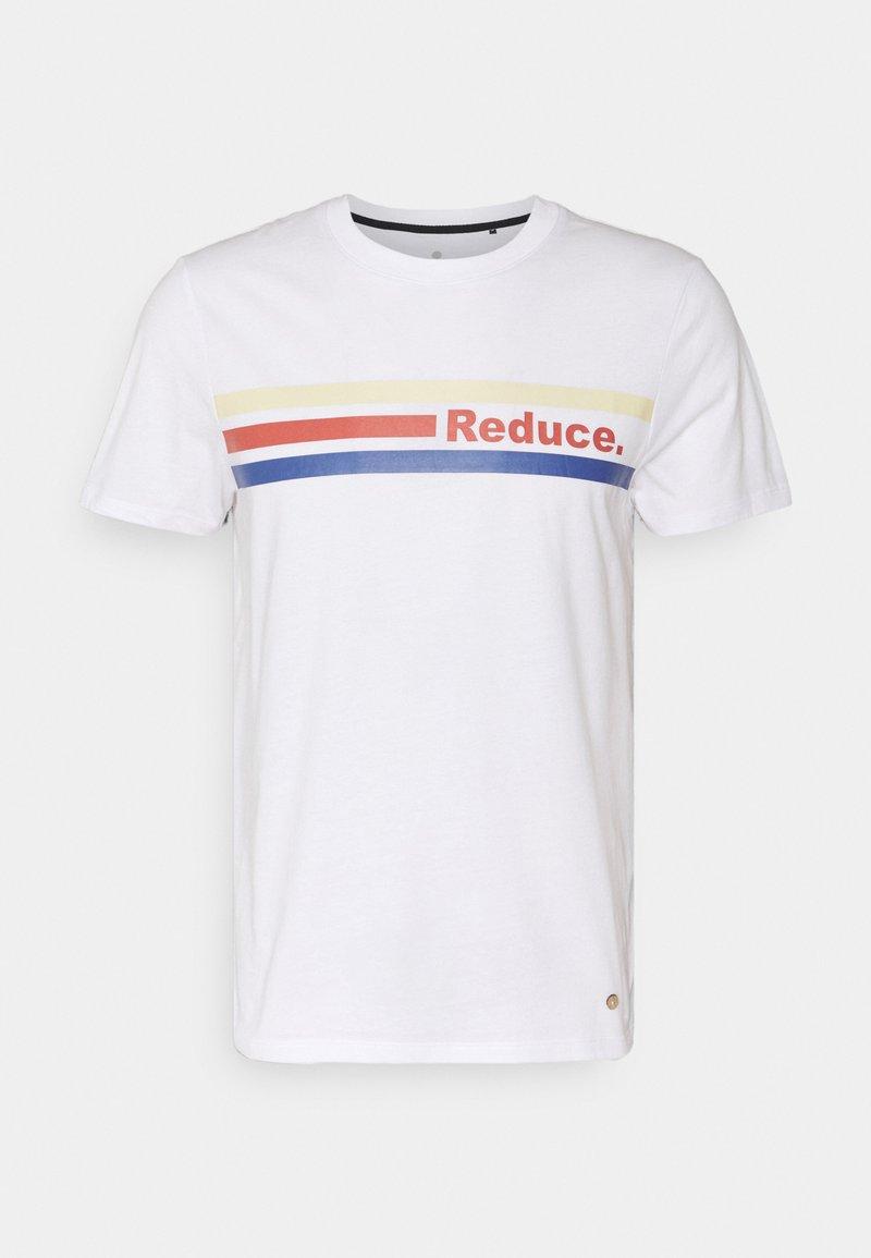 Faguo - ARCY UNISEX - Print T-shirt - white