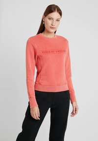 Tiger of Sweden Jeans - OBSESSA - Sweatshirt - red - 2