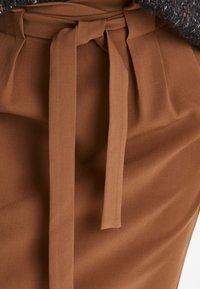 ICHI - IHUDELE - Pencil skirt - mocha bisque - 4