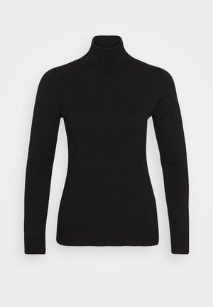 TURTLE NECK - Strikpullover /Striktrøjer - black