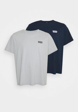 2 PACK - Print T-shirt - blues/hi rise
