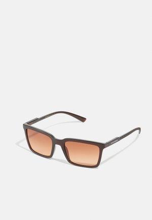 UNISEX - Sunglasses - transparent tobacco