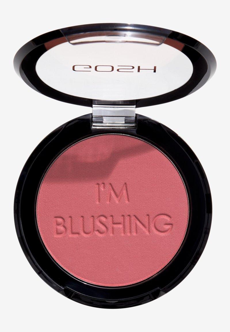 Gosh Copenhagen - I'M BLUSHING BLUSHER - Blusher - 003 passion