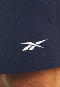 Reebok - SHORT - Sports shorts - vector navy - 5