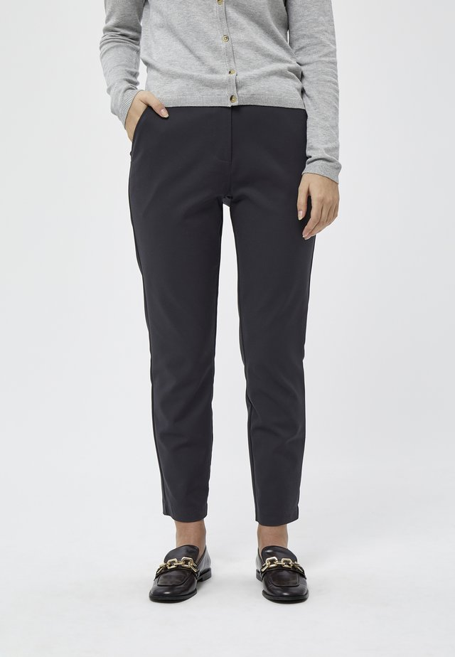 Trousers - ebony grey