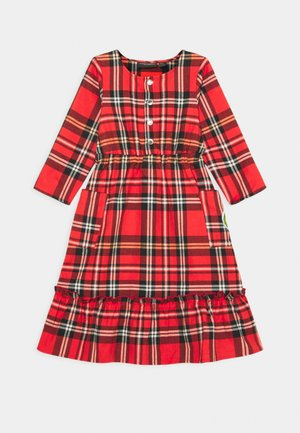 FLOUNCE DRESS - Day dress - red