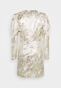 Bruuns Bazaar - GOLDIE ART DRESS - Day dress - white/gold - 1