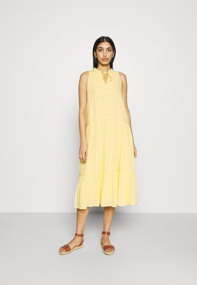 YASVELO MIDI DRESS - Day dress - pale banana