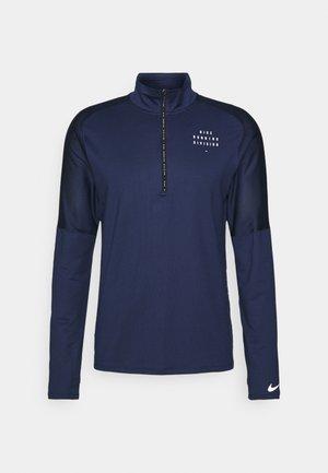 RUN  - Sports shirt - midnight navy/reflective silver