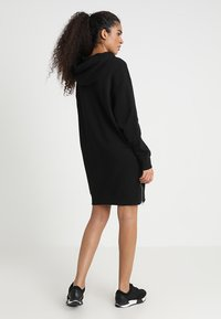 G-Star - ILOU ZIP HDD SW DRESS WMN L/S - Day dress - dk black
