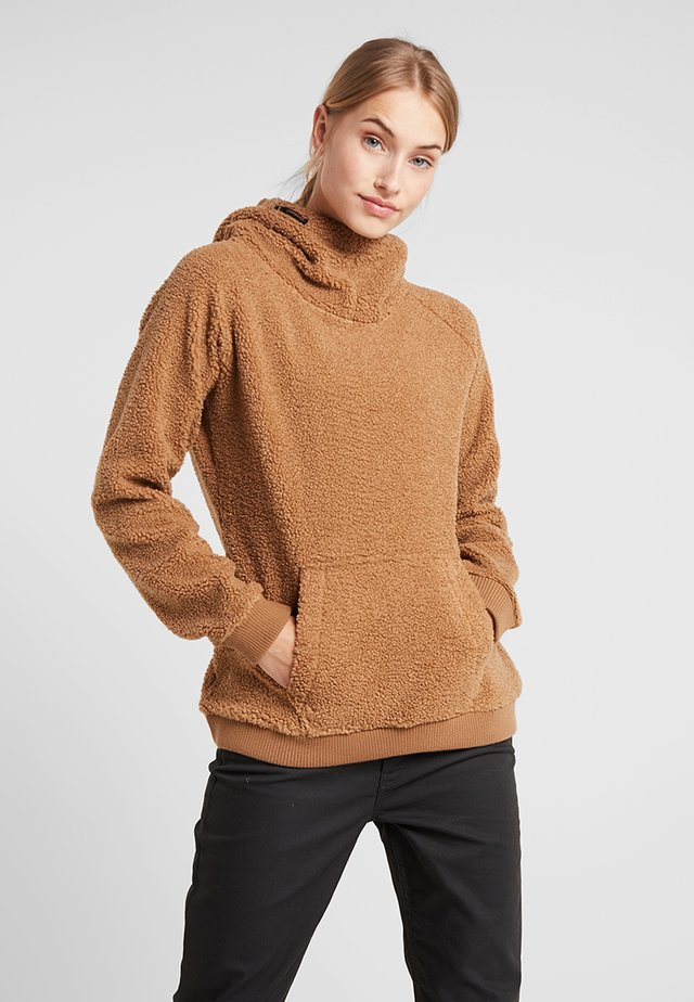 PRION WOMEN  - Sweat à capuche - latte