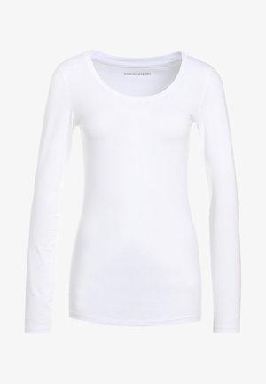 SELIMA - T-shirt à manches longues - white