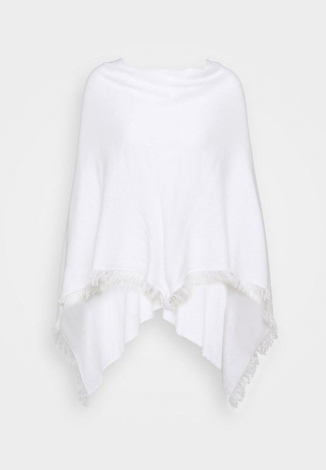 PONCHO - Poncho - white