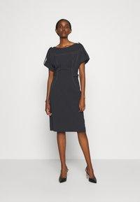 Alberta Ferretti - DRESS - Tubino - black - 0