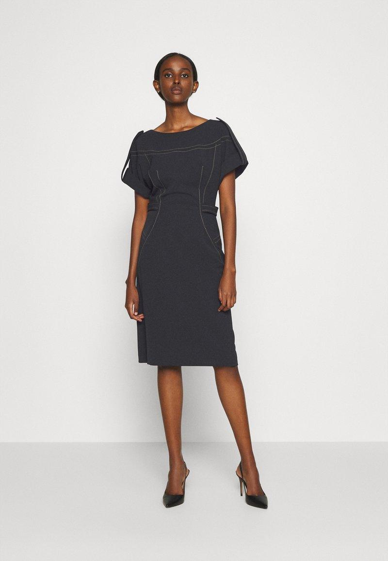Alberta Ferretti - DRESS - Tubino - black