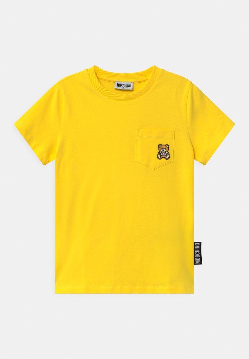 MOSCHINO - UNISEX - Print T-shirt - cyber yellow