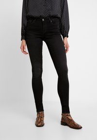ONLY - ONLSHAPE - Jeans Skinny Fit - black denim - 0