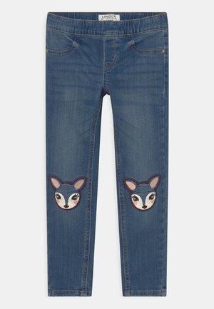 TROUSERS PLAYFUL DEER - Slim fit jeans - blue denim