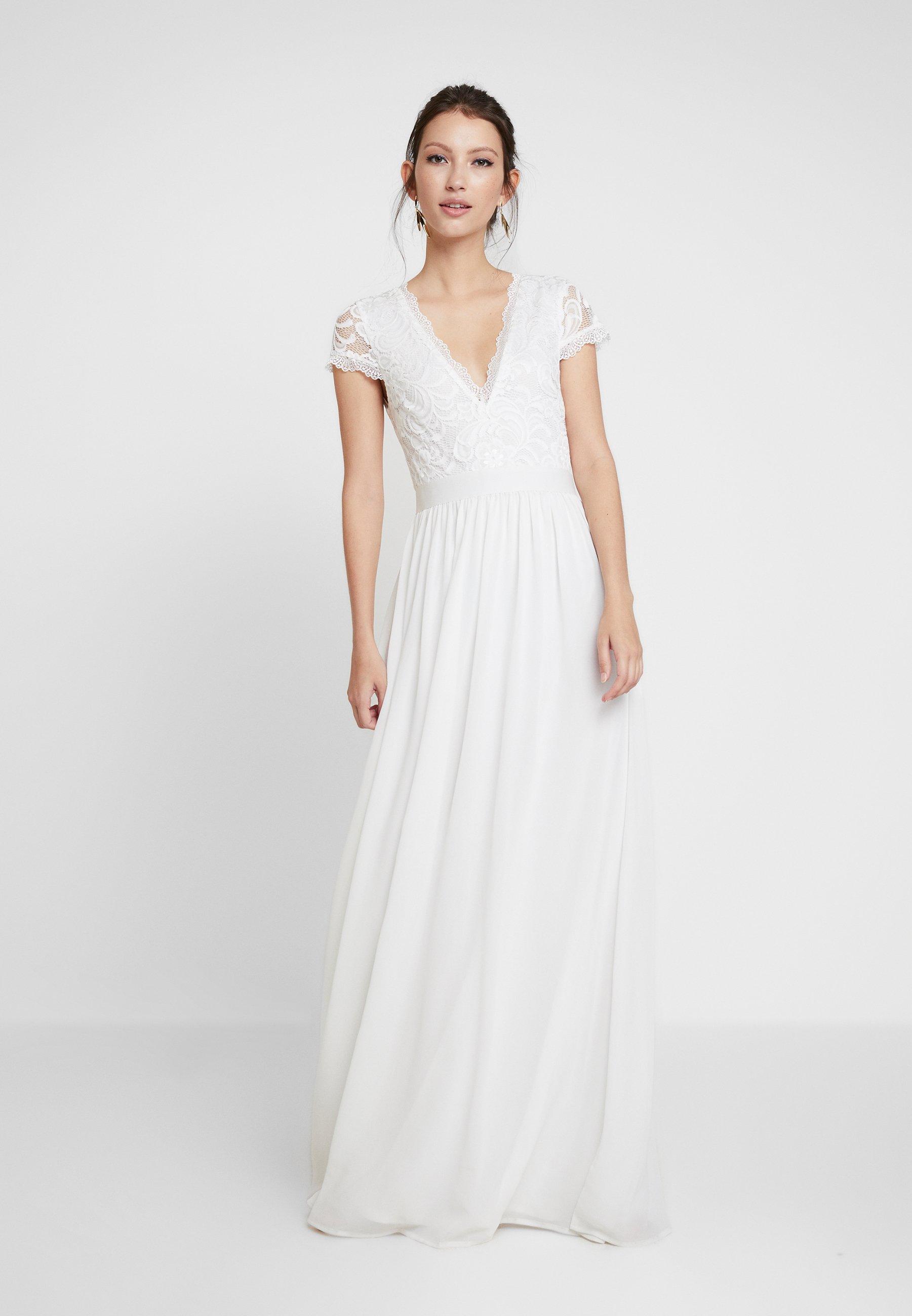 nlynelly upper gown - ballkleid - white/weiß - zalando.at