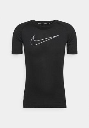 TIGHT - Print T-shirt - black/white