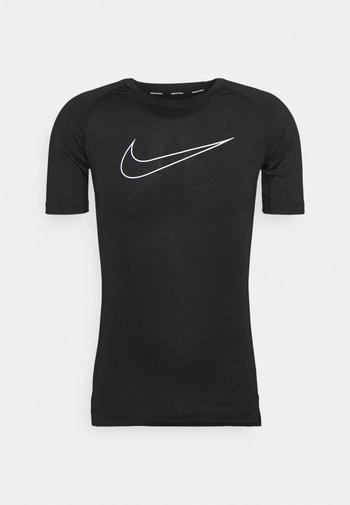 TIGHT - T-shirts med print - black/white