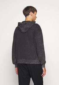 Night Addict - GOTH - Hoodie - acid wash - 2